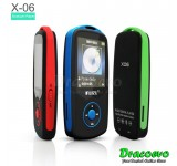 RUIZU X06 Bluetooth MP3 Music Player 4GB 100 Hours Recorder FM