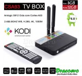 CSA93 TV BOX S912 3GB RAM 32GB Smart Android 6.0 Dual Antenna