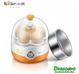 BEAR ZDQ-2201 Egg Boiler Multi-functional Stainless Steel Steaming Bowl Dim Sum