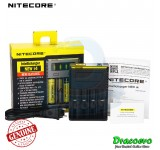 Authentic Nitecore i4 New Smart Intelligent Battery Charger Li-ion Ni-MH